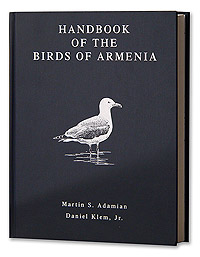 Handbook of the Birds of Armenia