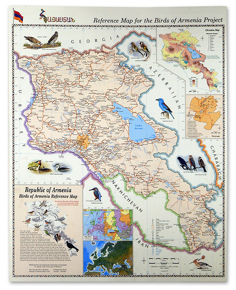 The Most Accurate and Detailed Traveler's Map of Armenia!